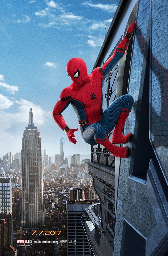 Spider-Man : Homecoming release date moved forward.