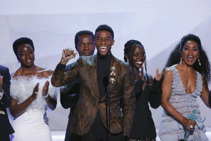 Black Panther Wins SAG Award, Follow Up Teased.