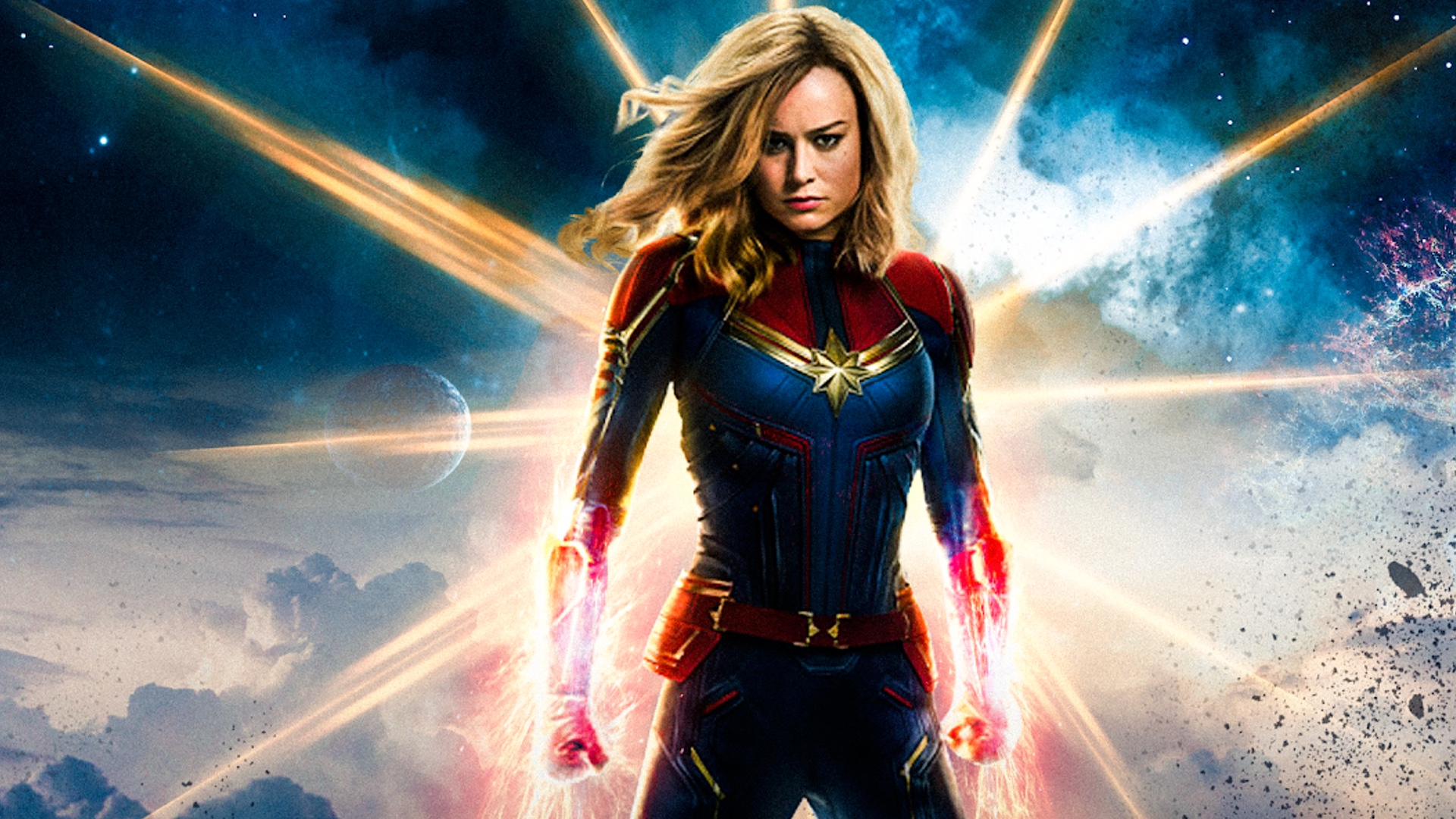 New Captain Marvel Footage.
