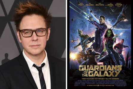 James Gunn is back for Guardians 3!!