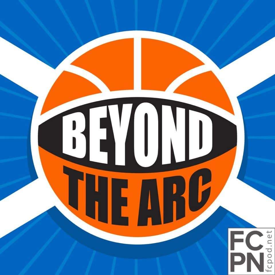 Logo for Beyond The Arc NBA Podcast