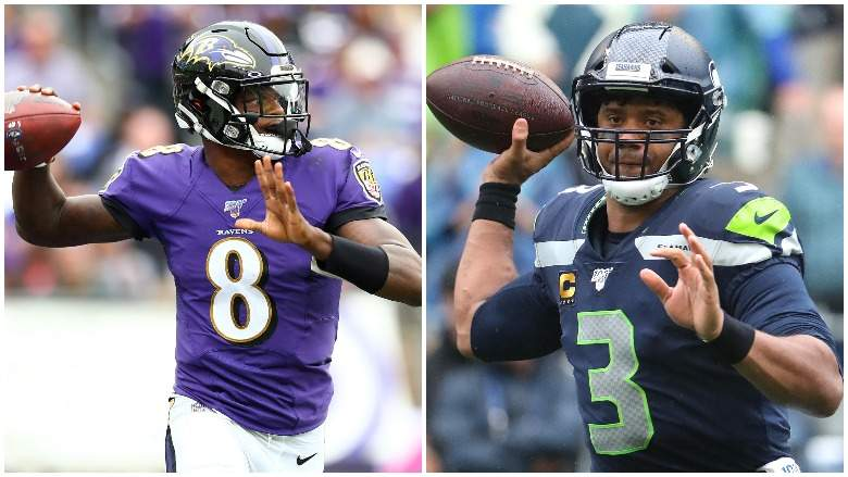 The American Fitbaw Cast E55 – QB Moves and is Lamar Jackson going to be better than Russell Wilson?